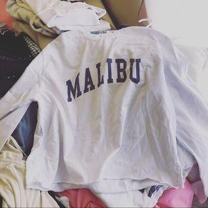Brandy Malibu long sleeve top